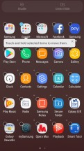 Add to folder - Samsung Galaxy J7 Pro review