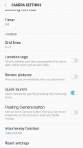 Pretty basic settings menu - Samsung Galaxy J7 Pro review