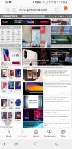 Samsung Internet - Samsung Galaxy S8 Active review