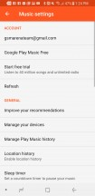 Google Play Music - Samsung Galaxy S8 Active review