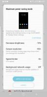 Maximum power saving - Samsung Galaxy S8 review