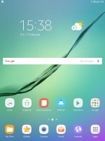 Home screen - Samsung Galaxy Tab S3 9.7