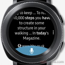 When asking how many steps we'd done we were presented with this - Samsung Gear Sport review