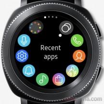 Apps screen - Samsung Gear Sport review
