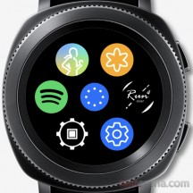 App shortcuts - Samsung Gear Sport review