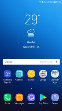 TouchWiz Home - Samsung J7 Max review