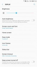 Settings - Samsung J7 Max review