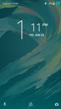 Lockscreen - Sony Xperia L1 review