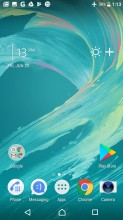 Homescreen - Sony Xperia L1 review