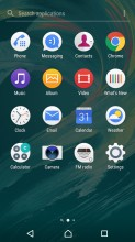 App drawer - Sony Xperia L1 review