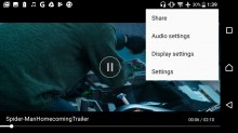 Video player - Sony Xperia L1 review
