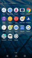 App drawer - Sony Xperia XA1 Ultra review