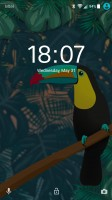 Toucan theme - Sony Xperia XA1 Ultra review