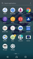 App drawer - Sony Xperia XA1 review