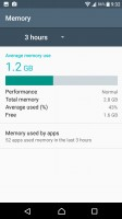 Smart cleaner frees up memory of both kinds - Sony Xperia XA1 review