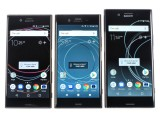 Xperia XZ1 alongside the XZs and XZ Premium - Sony Xperia XZ1 review