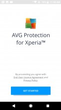 AVG Protection Pro - Sony Xperia XZ1 review