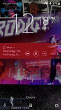 Music app - Sony Xperia XZ1 review