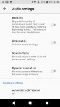 Xperia XZ1 equalizer settings - Sony Xperia XZ1 review