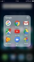 Folder view - vivo V5 Plus review