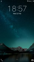 Default lockscreen - Vivo V5 review