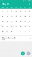 Calendar - Xiaomi Mi 6 review