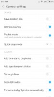 Settings - Xiaomi Mi 5X review
