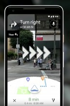 Google Maps AR - Android P hands-on review