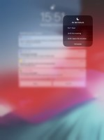 Control Center - Apple iPad Pro 12.9 (2018) review