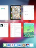 The app switcher - Apple iPad Pro 12.9 (2018) review