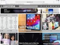 Landscape view - Apple iPad Pro 12.9 (2018) review