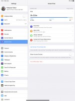 Screen Time settings - Apple iPad Pro 12.9 (2018) review
