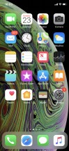 Homescreen - Apple iPhone XS review