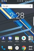 BlackBerry Launcher: Home screen - Blackberry KEY2 review