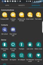 Shortcuts - Blackberry KEY2 review