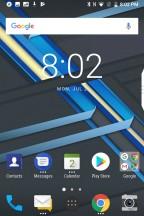 Dark mode - Blackberry KEY2 review