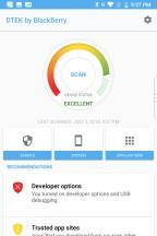 DTEK Scan - Blackberry KEY2 review
