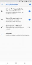 Some of the transferred settings - Google Pixel 2 XL long-term review