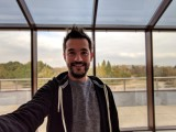 Selfie samples, portrait mode, wide camera - Google Pixel 3 review