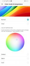 Display settings for most accurate rendition of the sRGB color space (that we achieved) - Honor Magic 2 review