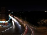 Light Painting with Car Trails - f/2.2, ISO 64, 1/-0s - Huawei Honor Play review