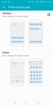 Home screen 1 - Huawei Honor View 10 review