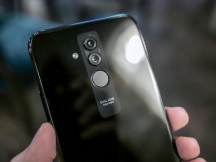 Dual camera and fingerprint reader on the back - Huawei Mate 20 Lite hands-on review