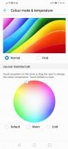 Custom color setting - Huawei Mate 20 lite review