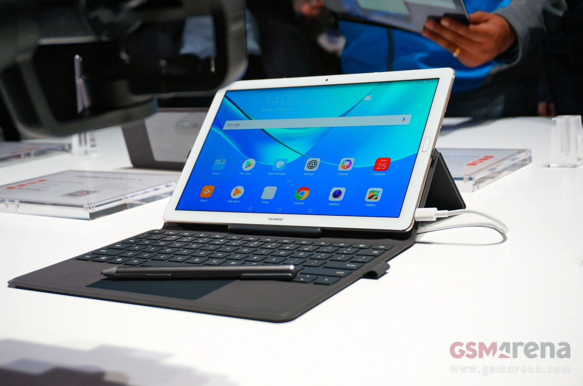 Huawei MediaPad M5 hands-on - GSMArena com news