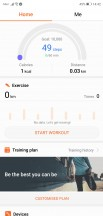 Health app - Huawei P20 review