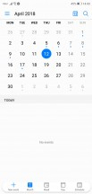 Calendar - Huawei P20 review