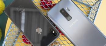 iPhone X vs. Galaxy S9+ shootout