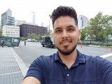 Selfie samples - f/1.9, ISO 50, 1/120s - LG V40 ThinQ hands-on review