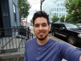 Selfie samples - f/2.2, ISO 50, 1/309s - LG V40 ThinQ hands-on review